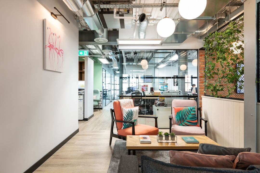 There's a lot to love at @workdotlife Fitzrovia. We collaborated and designed their mega new floor and it's a little bit amazing.