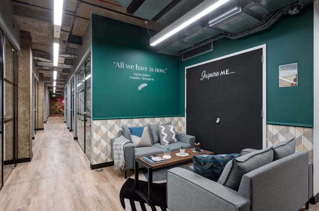 @workdotlife Manchester dedicated areas around their space to local residents who changed the world in some way for the better, something we are all about.