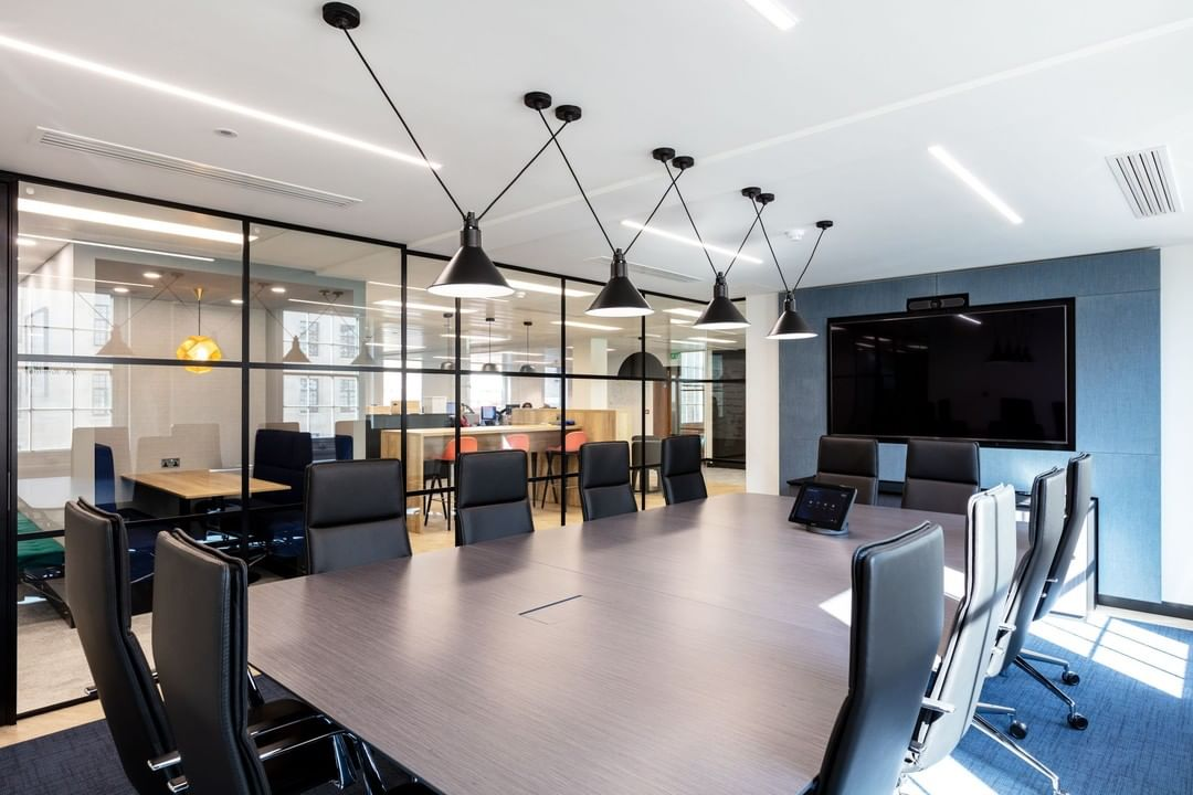 Literacy Capital wanted maximum light around their space, think bright open meeting rooms and open plan working areas.