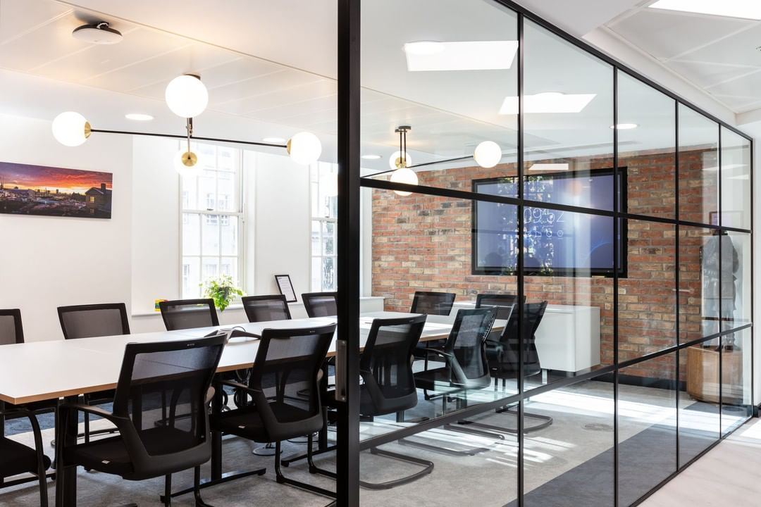 A sleek, slick new HQ for urban designers, LCR. Think collaborative, flexible working situations and a team-orientated workspace!
