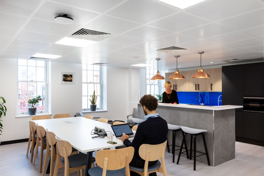 When LCR made their move to a new space, they had one main priority; create a space that would encourage their team to spend more time together.