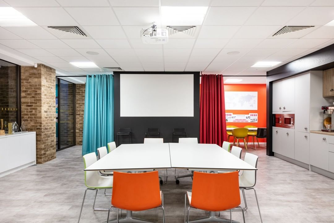 We bounced around some big and bold ideas with design experts, Marks for the space that would become their new home! The result? A vibrant, creative workplace.