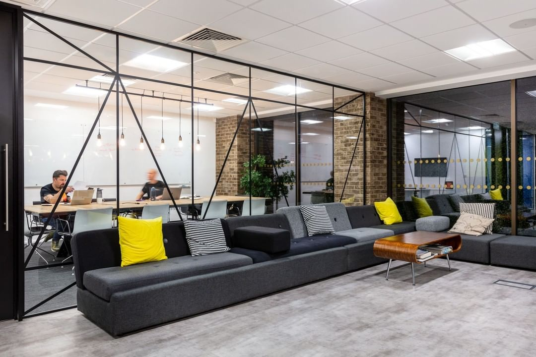 Balancing natural and neutral tones with on-brand colour to blend with Marks other office locations was just one of the ways we created an on-brand workspace.