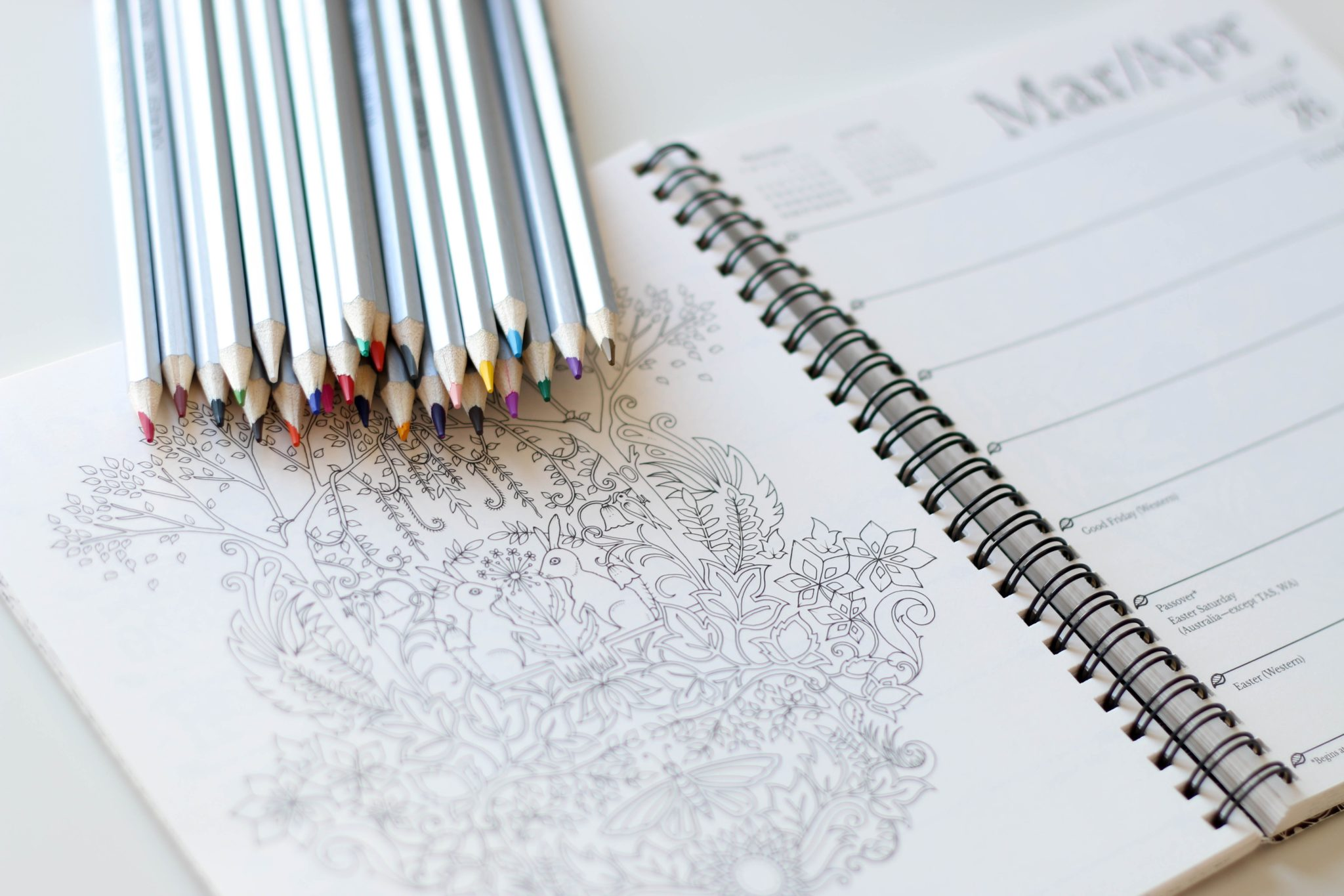 The art of mindful colouring