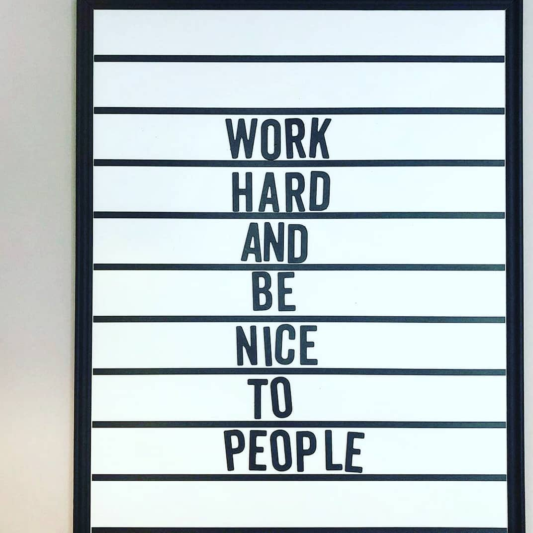 Words to live by right now! @workdotlife we are all about this 💫